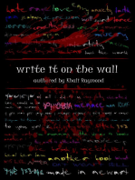 Write It on the Wall