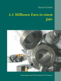 1,1 Millionen Euro in einem Jahr: Einsparungen und Verbesserungen beim Zerspanen