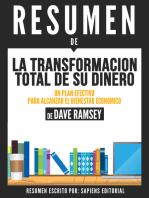 La Transformacion Total De Su Dinero:Un Plan Efectivo Para Alcanzar El Bienestar Economico