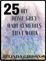 25 DIY Home Gray Hair Remedies That Work
