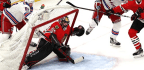 Scotty Bowman Says He Thinks Corey Crawford's Injury Concussion-related