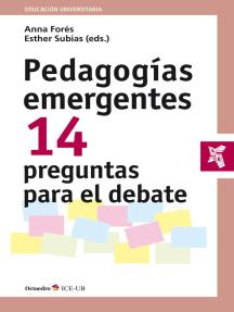 Pedagogías emergentes: 14 preguntas para el debate