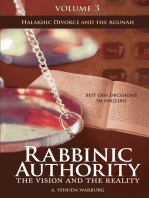 Rabbinic Authority, Volume 3