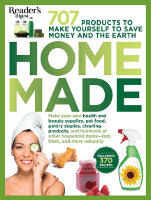 Homemade: 707 Products to Make Yourself to Save Money and the Earth