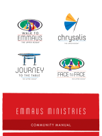 Emmaus Ministries Community Manual