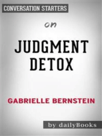 Judgement Detox​​​​​​​: by Gabrielle Bernstein | Conversation Starters