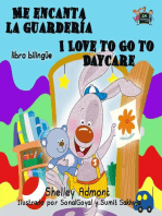 Me encanta la guardería I Love to Go to Daycare (Bilingual Spanish Kids Book)