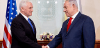 Pence Draws Applause, Some Heckles, For U.S. Embassy Move To Jerusalem
