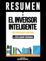 El Inversor Inteligente (The Intelligent Investor) - Resumen Del Libro De Benjamin Graham