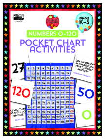 Celebrate Learning Numbers 0-120 Pocket Chart Activities