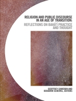 Religion and Public Discourse in an Age of Transition