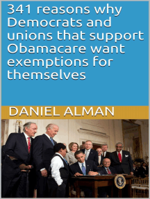 341 reasons why Democrats and unions that support Obamacare want exemptions for themselves