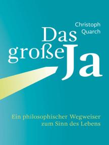 Das große Ja: Ein philosophischer Wegweiser zum Sinn des Lebens