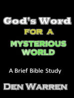 God's Word For A Mysterious World