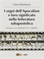 I segni dell'Apocalisse e loro significato nella letteratura subapostolica