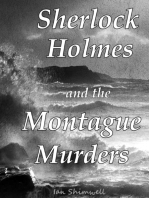 Sherlock Holmes and the Montague Murders