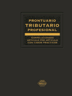 Prontuario Tributario correlacionado artículo por artículo con casos prácticos. Profesional 2018