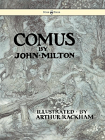 Comus - Illustrated by Arthur Rackham
