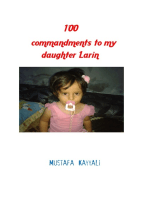 100 Commandments to My Daughter Larin