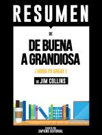De Buena A Grandiosa (Good To Great)