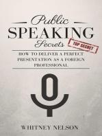 Public Speaking Secrets
