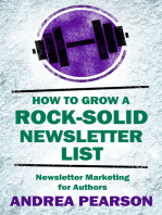 How to Grow a Rock-Solid Newsletter List