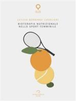 Bioterapia nutrizionale nello sport femminile