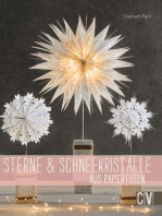 Sterne & Schneekristalle aus Papiertüten