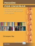 Pasión por enseñar: La identidad personal y profesional del docente y sus valores