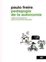 Pedagogía de la autonomía: Saberes necesarios para la práctica educativa