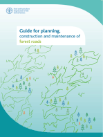 Guide for Planning, Construction and Maintenance of Forest Roads