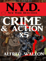 N.Y.D. - Crime und Action mal 5 - Sammelband (N.Y.D. - New York Detectives)