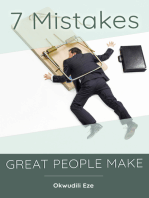 7 Mistakes Great People Make