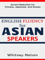 English Fluency For Asian Speakers
