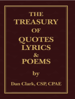 The Treasury of Quotes, Lyrics & Poems