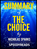 Summary of The Choice by Nicholas Sparks