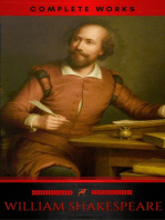 The Complete Works of William Shakespeare (37 plays, 160 sonnets and 5 Poetry Books With Active Table of Contents) (Lecture Club Classics)