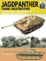 Jagdpanther Tank Destroyer: German Army and Waffen-SS, Western Europe 1944–1945