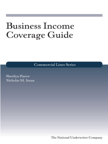 Business Income Coverage Guide