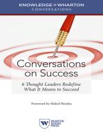 Conversations on Success