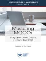 Mastering MOOCs