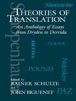 Theories of Translation: An Anthology of Essays from Dryden to Derrida