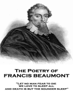 The Poetry of Francis Beaumont