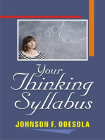 Your Thinking Syllabus