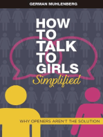 How to Talk to Girls Simplified