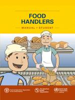 Food Handler's Manual