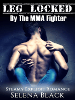 Leg Locked By The MMA Fighter