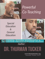 Powerful Co-Teaching: Special Education & General Education