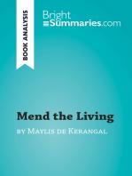 Mend the Living by Maylis de Kerangal (Book Analysis)