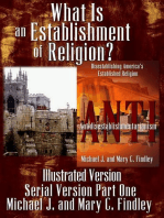 What Is an Establishment of Religion? (Illustrated Version)